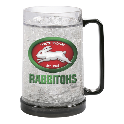South Sydney Rabbitohs NRL Freeze Beer Stein Frosty Mug Cup