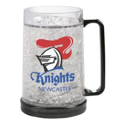 Newcastle Knights NRL Freeze Beer Stein Frosty Mug Cup
