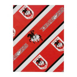 St George Illawarra Dragons NRL GIFT WRAP Wrapping Paper