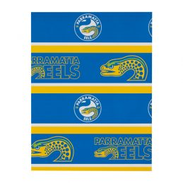 Parramatta Eels NRL GIFT WRAP Wrapping Paper
