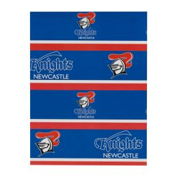 Newcastle Knights NRL GIFT WRAP Wrapping Paper