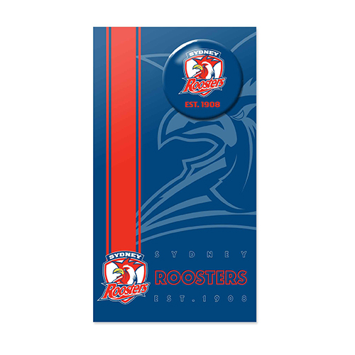 Sydney Roosters NRL GIFT Card with Badge (Birthday, Christmas, Mothers day, Fathers Day)