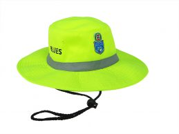 State of Origin NSW New South Wales Blues High Vis Work Sun Safety Hat Cap