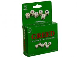 GREED TRAVEL VERSION Family Board Dice Game