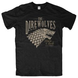 GOT Game of Thrones Direwolves of the North Tee T Shirt Sizes: S M L XL 2XL 3XL
