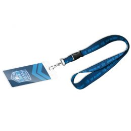 State of Origin NSW New South Wales Blues NRL Lanyard Chain Card Pocket Storage Poly Swivel Hook