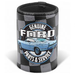 FORD Genuine Parts & Service Can Cooler Stubby Holder