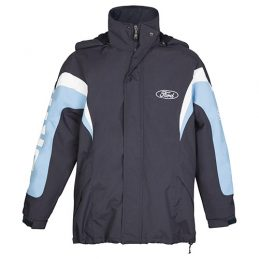 Ford Performance Jacket Jumper Hoodie Embroidered Fleece lined detachable hood