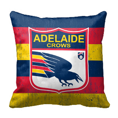 Adelaide Crows AFL Cushion Canvas fabric indoor outdoor Pillow