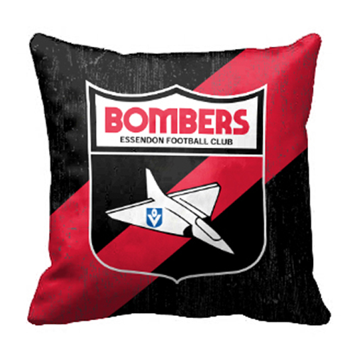 Essendon Bombers AFL Cushion Canvas fabric indoor outdoor Pillow
