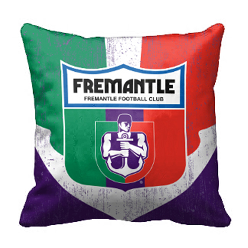 Fremantle Dockers Freo AFL Cushion Canvas fabric indoor outdoor Pillow