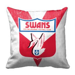Sydney Swans AFL Cushion Canvas fabric indoor outdoor Pillow