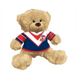 Sydney Roosters NRL Plush Teddy Bear Sublimated 2017 Team Jersey