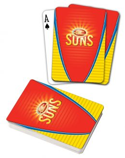 Gold Coast Suns AFL Deck Playing Cards Poker Cards