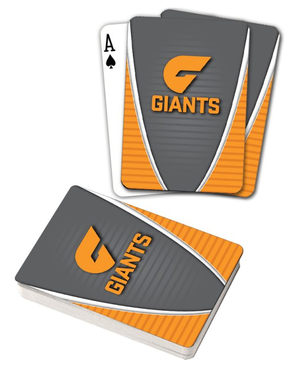 Greater Western Giants AFL Deck Playing Cards Poker Cards