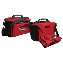 Essendon Bombers AFL Lunch Cooler Bag With Drink Tray Table