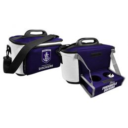 Fremantle Dockers Freo AFL Lunch Cooler Bag With Drink Tray Table