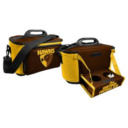 Hawthorn Hawks AFL Lunch Cooler Bag With Drink Tray Table