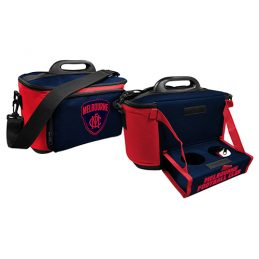 Melbourne Demons AFL Lunch Cooler Bag With Drink Tray Table