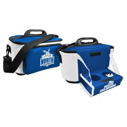 North Melbourne Kangaroos AFL Lunch Cooler Bag With Drink Tray Table