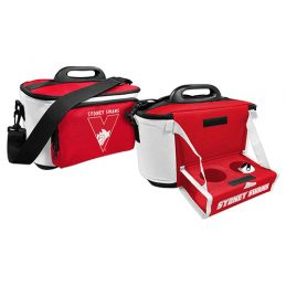 Sydney Swans AFL Lunch Cooler Bag With Drink Tray Table