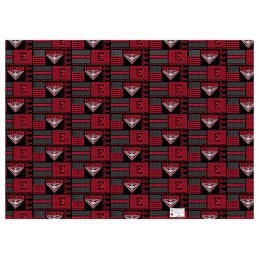 Essendon Bombers AFL Gift Wrapping Paper School Book Covering