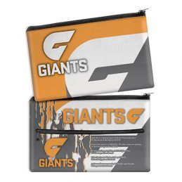 Greater Western Giants AFL QUALITY LARGE Pencil Case for School Work Stationary
