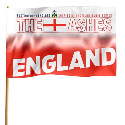 Cricket THE ASHES England Game Day Flag