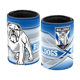 Canterbury Bulldogs NRL Beer Can Bottle Cooler Stubby Holder Cosy