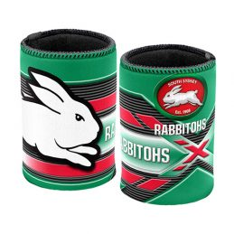 NRL South Sydney Rabbitohs Beer Can Bottle Cooler Stubby Holder Cosy