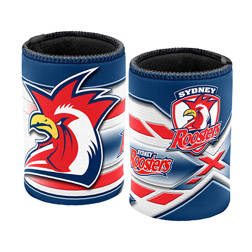 Sydney Roosters NRL Beer Can Bottle Cooler Stubby Holder Cosy