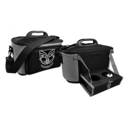NEW ZEALAND WARRIORS NRL DRINK COOLER ESKY CARRY BAG WITH DRINK TRAY/TABLE