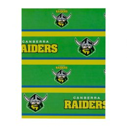Canberra Raiders NRL GIFT WRAP Wrapping Paper