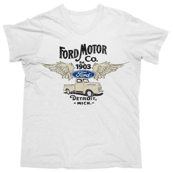 Ford Motor Company Est. 1903 Wings T Shirt