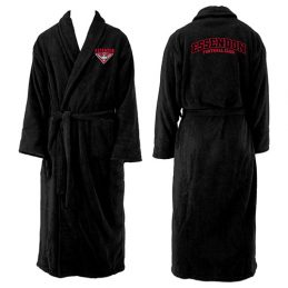 Essendon Bombers AFL Adult Polyester Dressing Gown Bath Robe