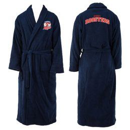 Sydney Roosters NRL Adult Polyester Dressing Gown Bath Robe