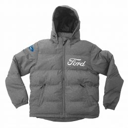 Ford Performance PUFFA Jacket Jumper Hoodie Embroidered detachable hood
