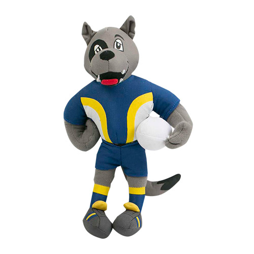North QLD Queensland Cowboys NRL Plush MASCOT Teddy Bear Sublimated Embroidered