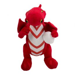 St George Illawarra Dragons NRL Plush MASCOT Teddy Bear Sublimated Embroidered