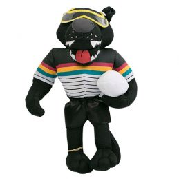 Penrith Panthers NRL Plush MASCOT Teddy Bear Sublimated Embroidered