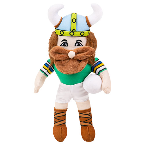 Canberra Raiders NRL Plush MASCOT Teddy Bear Sublimated Embroidered