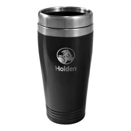 HOLDEN Laser Engraved TRAVEL Coffee Mug Cup Stainless Steel
