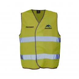 Penrith Panthers NRL HI VIS Safety Work Vest Reflective Shirt: YELLOW