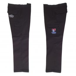 Newcastle Knights NRL Long Cargo Work Pants: BLACK Workwear Safety Gift Tradies