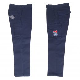 Newcastle Knights NRL Long Cargo Work Pants: NAVY Workwear Safety Gift Tradies
