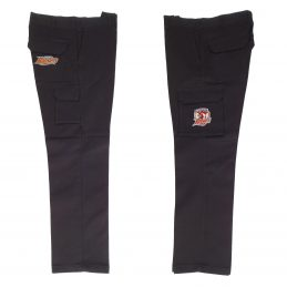 Sydney Roosters NRL Long Cargo Work Pants: BLACK Workwear Safety Gift Tradies
